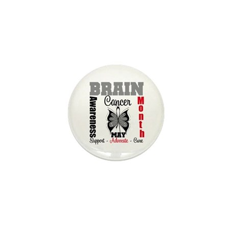 BrainCancerAwarenessMonth Mini Button