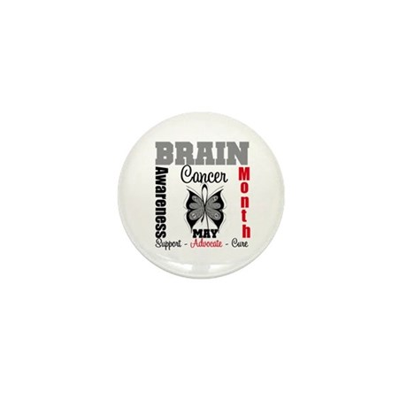 BrainCancerAwarenessMonth Mini Button (10 pack)