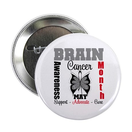 "BrainCancerAwarenessMonth 2.25"" Button"