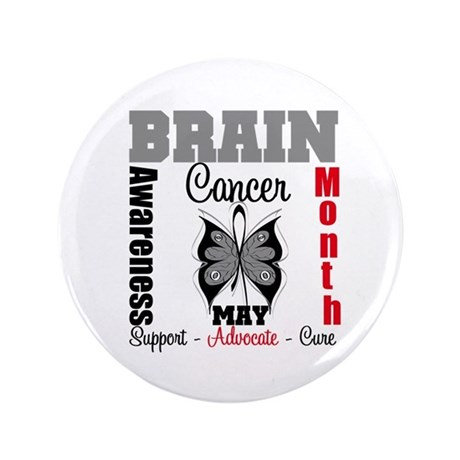 "BrainCancerAwarenessMonth 3.5"" Button (100 pack)"
