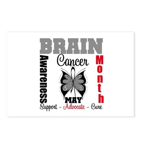 BrainCancerAwarenessMonth Postcards (Package of 8)