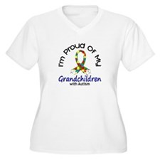 Proud Of My Autistic Grandchildren 1 T-Shirt