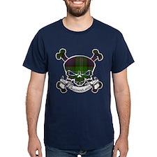 Sutherland Tartan Skull T-Shirt