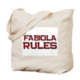 fabiola rules Tote Bag