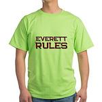 everett rules Green T-Shirt