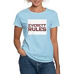 everett rules Women's Light T-Shirt