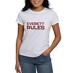 everett rules Women's T-Shirt