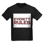 everett rules Kids Dark T-Shirt