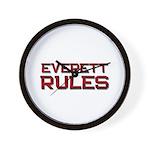 everett rules Wall Clock