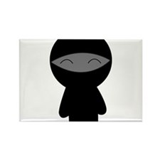 Cute Little Ninja Rectangle Magnet