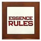 essence rules Framed Tile