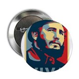 "Cute Fidel 2.25"" Button"