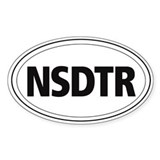 Nova Scotia Duck Tolling Retriever Oval Decal