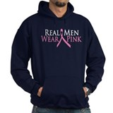 Real Men Wear Pink (Ribbon) Hoody