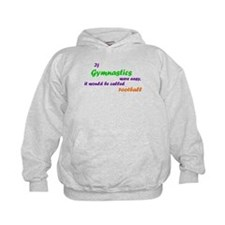 If gymnastics were easy... Kids' Hoodie