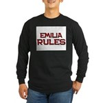 emilia rules Long Sleeve Dark T-Shirt