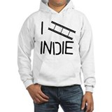 I FILM INDIE, I LOVE INDIE Hoodie