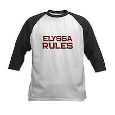 elyssa rules Tee