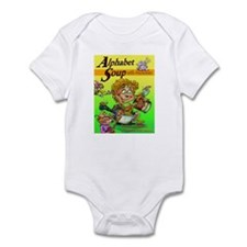 Alphabet Book Design Infant Bodysuit