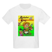 Alphabet Book Design T-Shirt