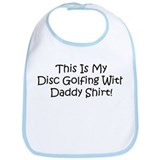 Disc Golf With Daddy Bib