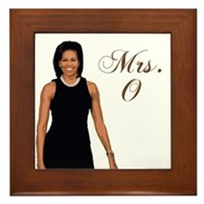 Michelle Obama Framed Tile