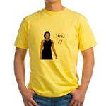 Mrs. Michelle Obama Yellow T-Shirt