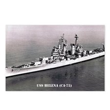 USS HELENA (CA-75) Postcards (Package of 8)