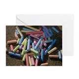 Chalk Pile Greeting Cards (Pk of 10)
