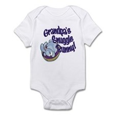 GRANDPA'S SNUGGLE BUNNY! Infant Bodysuit