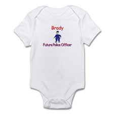 Brady - Future Police Infant Bodysuit