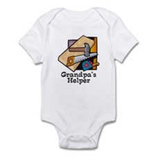 Grandpa's Helper (Carpentry) Infant Bodysuit