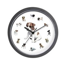 JACK RUSSELL TERRIER PUPPY CL Wall Clock