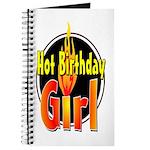 Hot Birthday Girl Journal