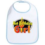 Hot Birthday Girl Bib