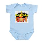 Hot Birthday Girl Infant Creeper