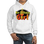 Hot Birthday Girl Hooded Sweatshirt