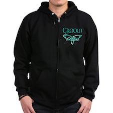 Groom Zip Hoodie