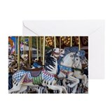 Wooden Horse Greeting Cards (Pk of 10)