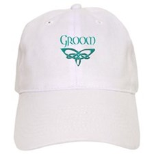 Celtic Cross Wedding Invitati Baseball Cap
