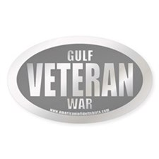 Gulf War Veteran Oval Decal