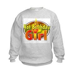 Birthday Girl Kids Sweatshirt