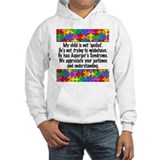 He Has Asperger's Jumper Hoody