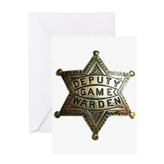 Deputy Game Warden Greeting Card