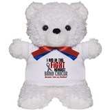 In The Fight HUSBAND Brain Cancer Teddy Bear