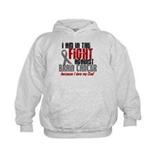 In The Fight DAD Brain Cancer Hoodie