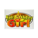 Birthday Girl Rectangle Magnet
