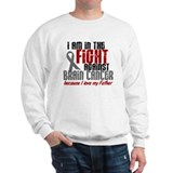In The Fight FATHER Brain Cancer Sweatshirt