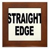 Unique Straight edge Framed Tile