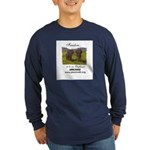 Color Photo Winky & Wanda Long Sleeve Dark T-Shirt